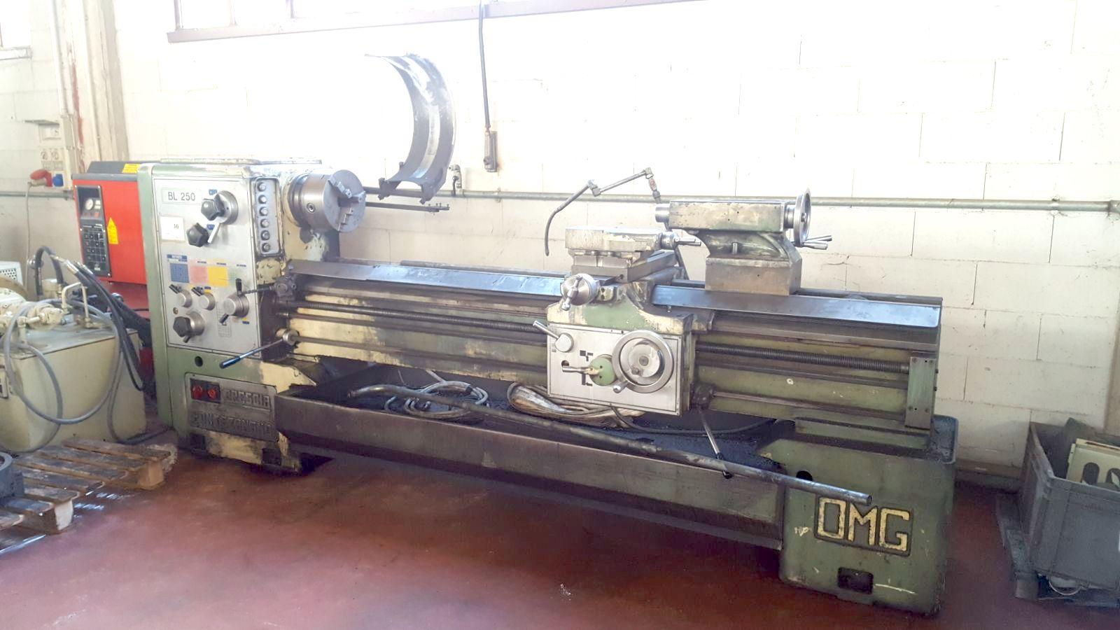 Rivenditore tornio omg zanoletti 250 usato gamba macchine for Tornio omg zanoletti usato